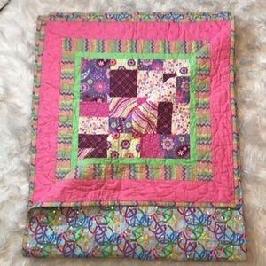 Twin Size Reversible Quilt